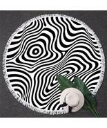 Zebra Illusion Beach Towel - $12.32+