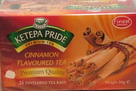 Flavoured Tea - Cinnamon Flavoured Ketepa Pride Tea with cinnamon infusions - $3.85