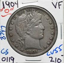 1904O Silver Barber Half Dollar 50¢ Coin Lot# CV55