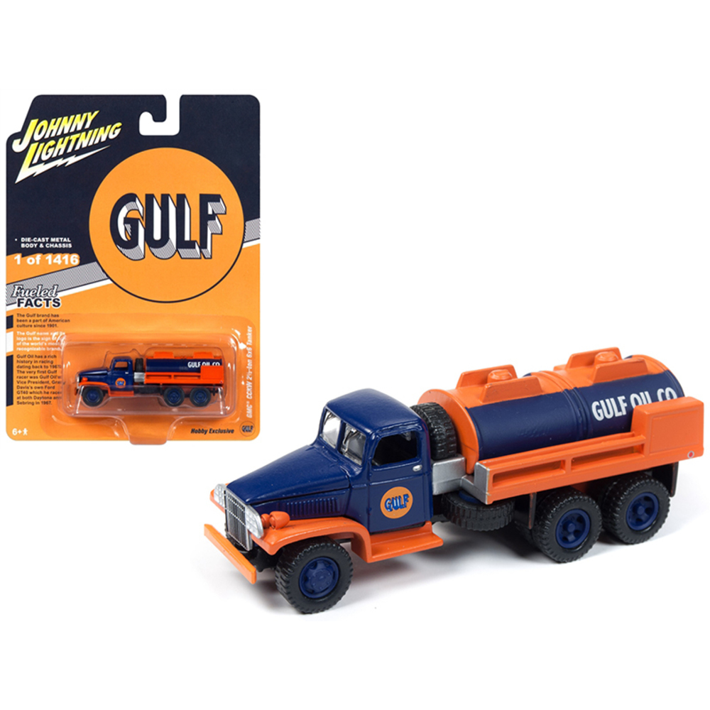 GMC CCKW 2 1/2-ton 6x6 Tanker Truck Gulf Oil Limited Edition to 1,416 pieces Wor