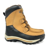 Timberland Toddler Chillberg Waterproof Winter Wheat & Black Boots 3581R - $59.99