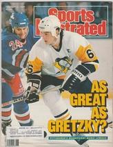 1989 Sports Illustrated Pittsburgh Penguins Mario Lemieux New York Yanke... - $2.75