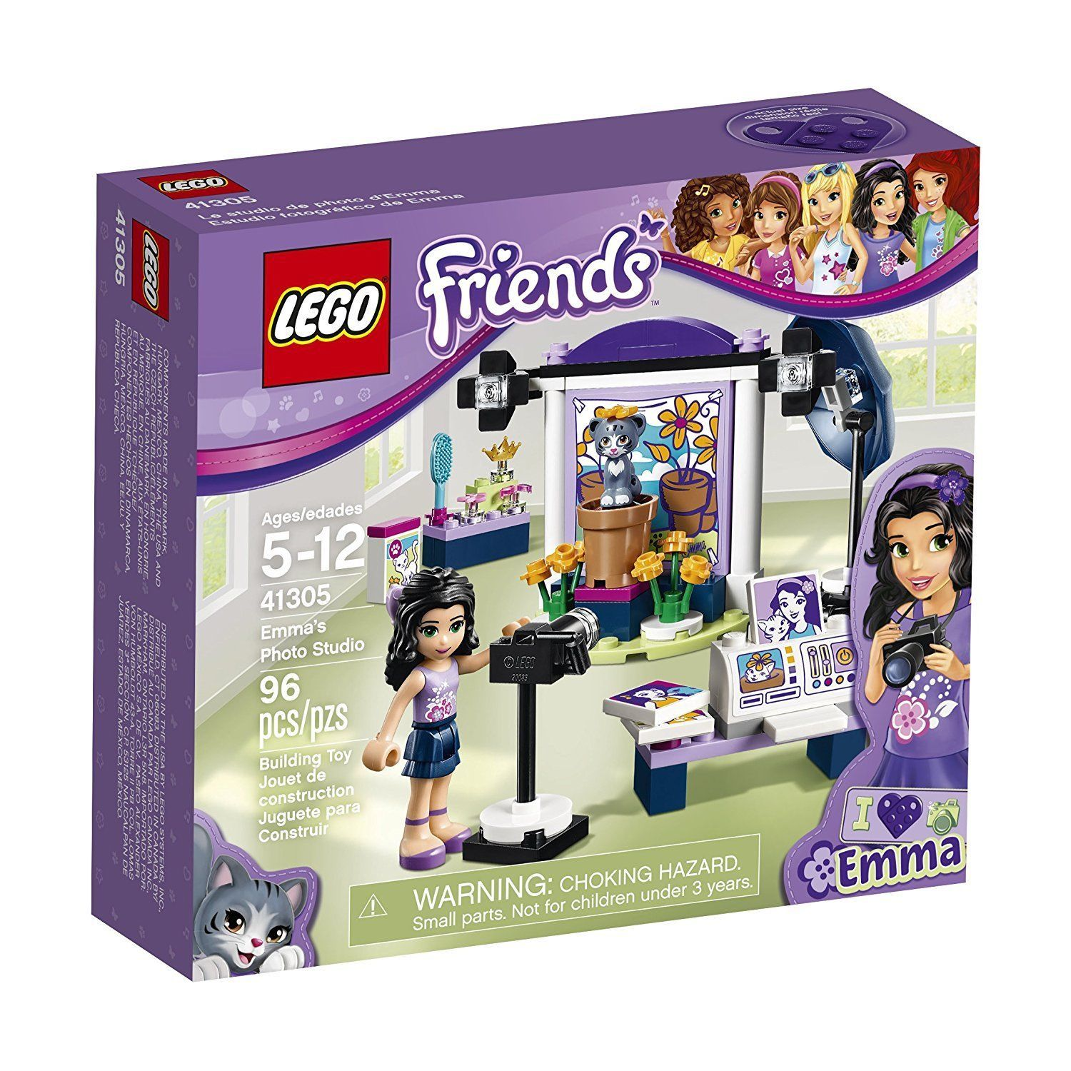 LEGO Friends Emma's Photo Studio 41305 Building Toy Kit [New]