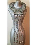 Maasai,Tribal,African Beaded Collar Necklace - $59.00