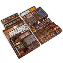 Smonex Wooden Organizer and Four Player Boards Compatible with Gloomhaven Board  - $108.85