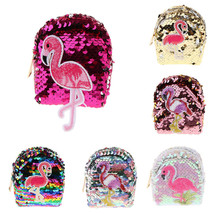 Sequins Coin Purse Mini Backpack Bag Key Card Earphones Holder Case Keyc... - $9.69