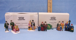 Department 56 Heritage Village Holiday Travelers & Carolers Original Box... - $19.75
