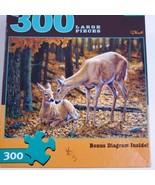 Buffalo Games Autunno Innocence Grande Formato 300 Pezzi Puzzle Completo - $7.27