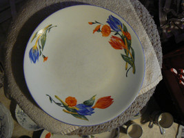 Table Tops Lovely Tulip Unlimited dinner plate 4 available - $5.40