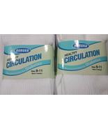 Diabetic Socks CREW White 6 Pair Sz 9-11 Healthy Circulation Buruka Non ... - $13.85