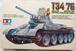 1/35 T34/76 Russian Tank 1942 Production ModelKit No MM149 Series No. 49 - $42.50