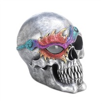 Fantasy Skull Figurine With LED Light - $20.31