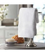 Member's Mark Hotel Premier Collection 100% Cotton Luxury Hand Towel, White - $10.84