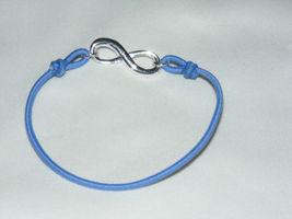 NIB (2008) AVON Empowerment Bracelet Infinity Symbol on Stretch Cord - Large AV5 image 4