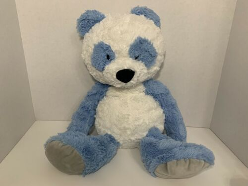 Primary image for Spark Create Imagine plush blue white panda teddy bear stuffed animal 20""