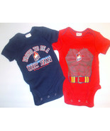 ProEdge Infant Boys Bodysuit Set UIC Flames Chi... - $9.85