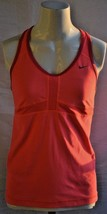 Nike Women's Dri Fit Size Medium Pink Tank Top - $17.81