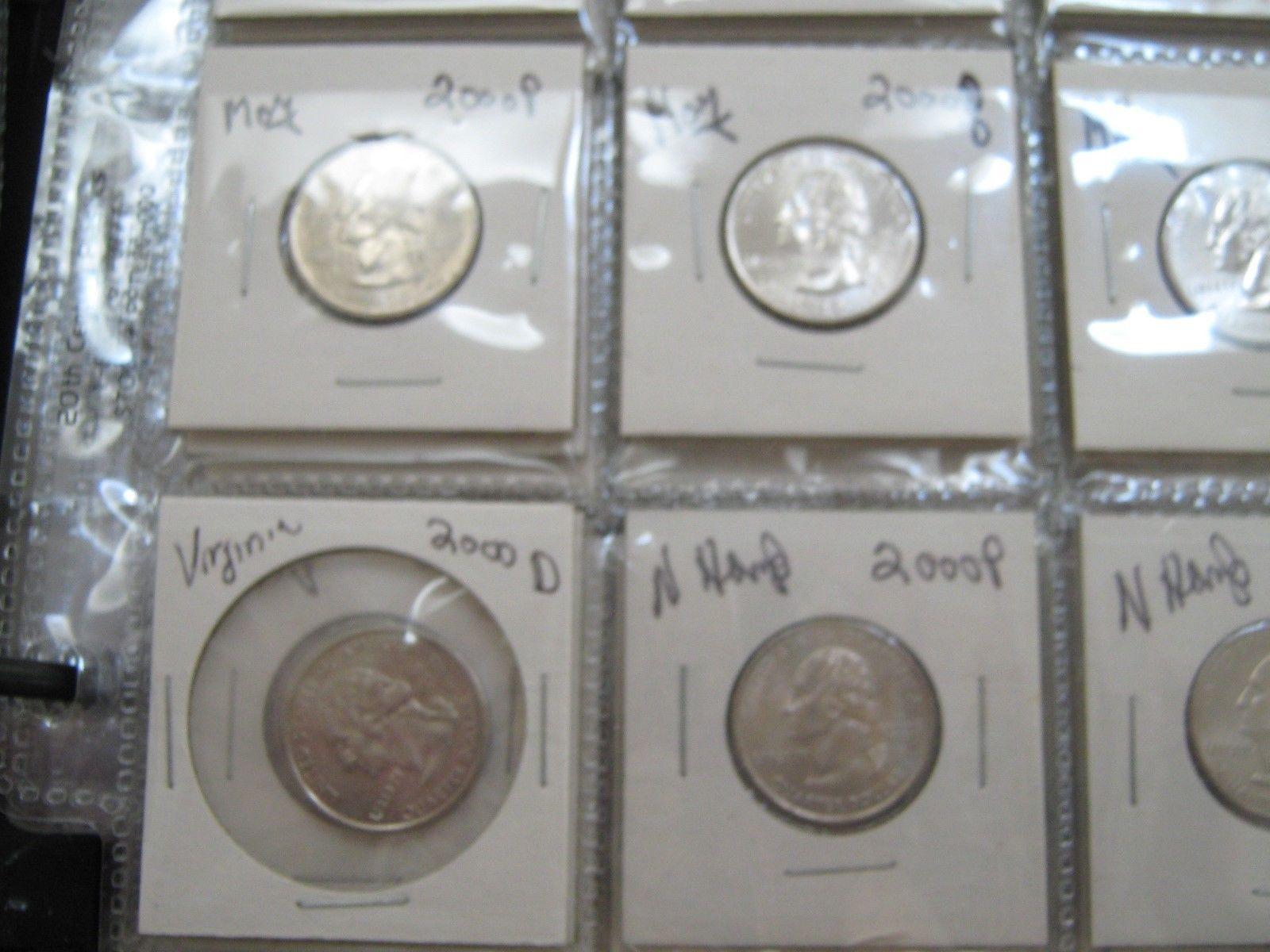 Washington . 1999-2008  State Quarters , Mixed  Lot of 250 , AU / Un Circ