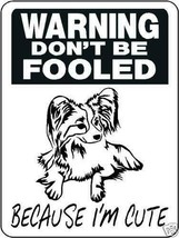 "0580 Papillon 9""x12"" Aluminum Sign - $14.59"