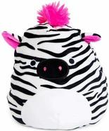 "Squishmallow Kellytoy 8"" Tracey The Zebra New Assortment 3- Super Soft P... - $27.71"