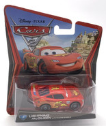 Disney Pixar Cars Lightning McQueen with Racing Wheels Diecast Toy Car - $10.40