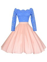 Maggie Tang 1950s Vintage Retro Polka Dots Swing Rockabilly Casual Skirt... - $33.62