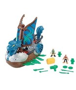 IMAGINEXT FISHER-PRICE  SERPENT PIRATE SHIP & FIGURES NEW IN THE BOX - $78.20