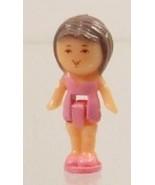 1990 Vintage Polly Pocket Doll Bath Time Soap Dish - Lulu Bluebird Toys - $7.50