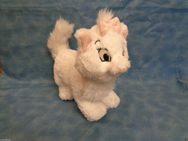 "Disney Tote A Tail Aristocats Marie White Kitten Sparkly 8"" Plush - $5.89"