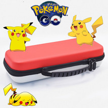Carrying Case for Nintendo Switch  Hard Shell RED & WHITE Pokemon Pikach... - $11.39