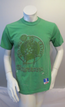 Boston Celtics Shirt (VTG) - Classic Logo in All Green - By Nutmeg - Men... - $45.00