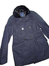 AMERICAN EAGLE AEO Winter JACKET coat Wool Peacoat NAVY blue Black XS X ... - $67.28