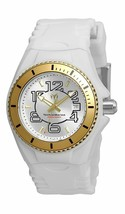 Technomarine Cruise Jellyfish Women's White Silicone Swiss 34mm Watch TM... - $119.99