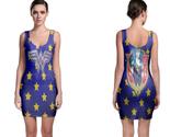 Wonder woman emblem bodycon dress thumb155 crop