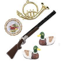 Dollhouse Duck Hunting and Decoy Set 1.727/6 Reutter Miniature Decor 2018 - $23.75