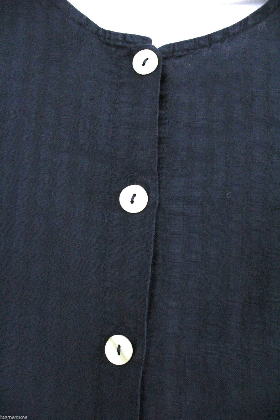 Fresh Produce Tank Maxi Dress & Jacket Blouse Top Black Windowpane Print  M image 5