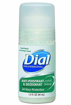 6-PACK Dial Anti-Perspirant Deodorant Roll-On Crystal Breeze 1.5 oz FREE... - $14.80