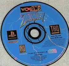 Wcw Nwo Thunder (Playstation 1, 1999) Rated E Wrestling Video Game - $6.93