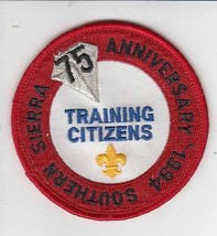 Boy Scouts America Southern Sierra Council Training Citizens Patch - $4.94