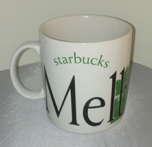 MELBOURNE Starbucks / City Mug Series 2003 / Coffee / Tea / Australia - $24.74