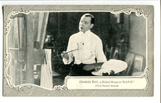 Primary image for CHARLES RAY-RSVP-SILENT FILM STAR-1922 POST CARD G