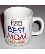 "Mother's Love ""Best Mom On Earth"" Collectible Ceramic Mug Japan - $13.99"