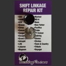 Chrysler Lebaron Transmission Shift Cable Repair Kit w/bushing Easy Install - $24.99