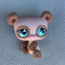 """Tan w Blue Eyes 2"""" MINI Bobble Head Littlest Pet Shop Bear Figurine - $5.95"""