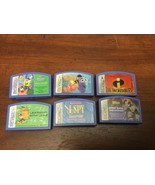 Leapster Game cartridges Lot Of 6 - $14.85