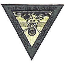 US Army Helicopter Sea Combat Weapons School Pacific Fleet Patch - $10.68