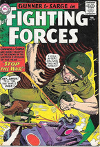 Our Fighting Forces Comic Book #90 Gunner and Sarge, DC Comics 1965 VERY GOOD - $15.44