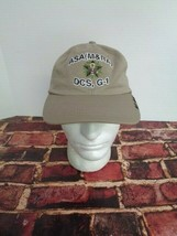 US Army Deputy Cheif of State G1 ASa Khaki Cap Hat One Size - $23.51
