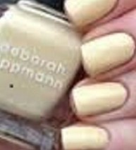 Deborah Lippmann Nail Lacquer Polish in Build Me Up Buttercup (Light Yellow)! - $6.47