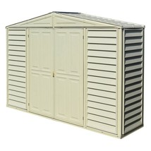 Storage Shed 10.5 x 3 Heavy Duty Galvanized Steel Double Door Outdoor Ga... - $555.17